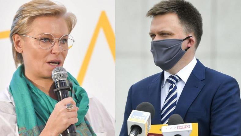 Paulina Młynarska, Szymon Hołownia