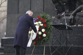Tillerson przed Pomnikiem Bohaterów Getta: Nigdy nie możemy pozostać obojętni wobec zła