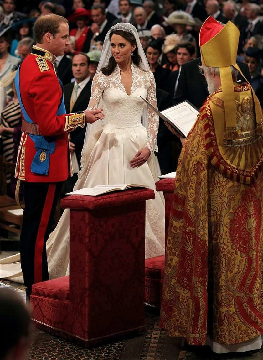 Suknia ślubna Kate Middleton! FOTO