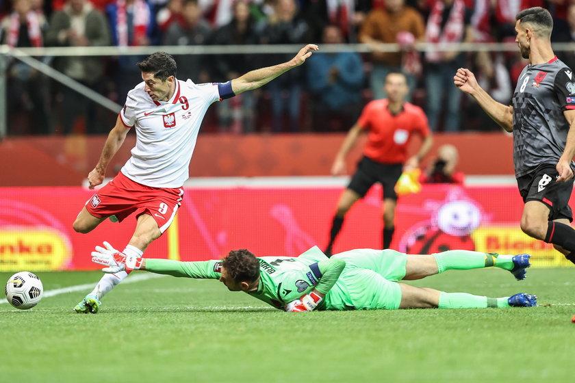 W meczu z Albanią kadra strzeliła cztery gole, ale była krytykowana za styl.