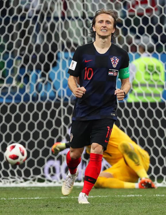 Modrić je u trećoj seriji realizovao penal i doprineo je pobedi Hravtske nad Danskom