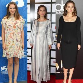 Ciążowe stylizacje Natalie Portman. Która najlepsza?