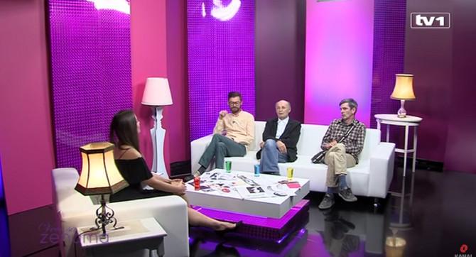Mustafa Nadarević, Senad Bašić i Moamer Kasumović, tri glavna lika iz serije