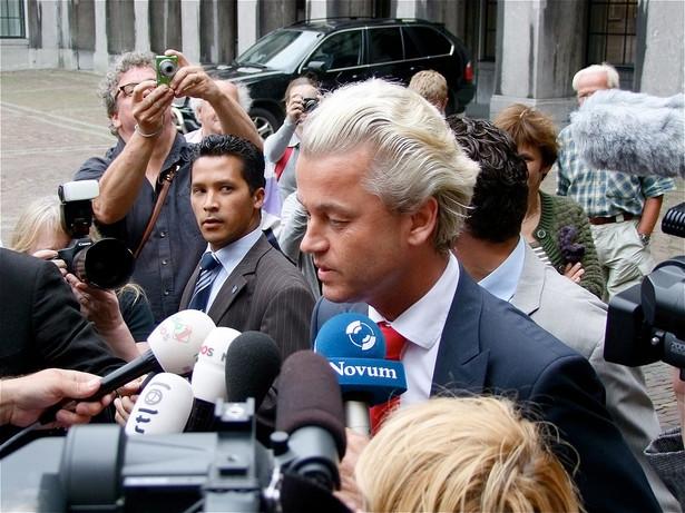 Geert Wilders. Fot. Roel Wijnant/Flickr.com