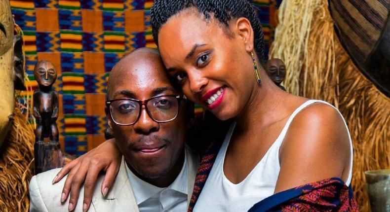 Bien Aime Baraza with fiancee Chiki Kuruka