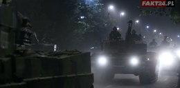 Nocna próba przed świętem Wojska Polskiego
