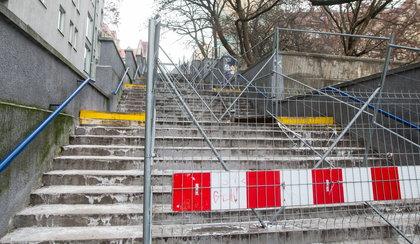 Wyremontują schody na Chwiałkowskiego