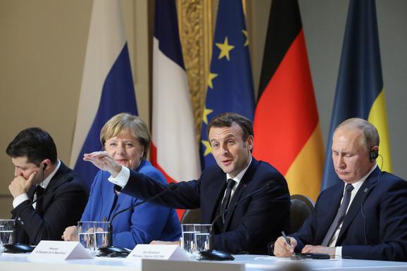 Sastanak Normandijske četvorke u Parizu