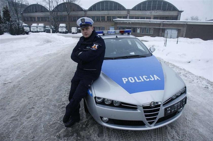 Tym teraz jeździ policja!