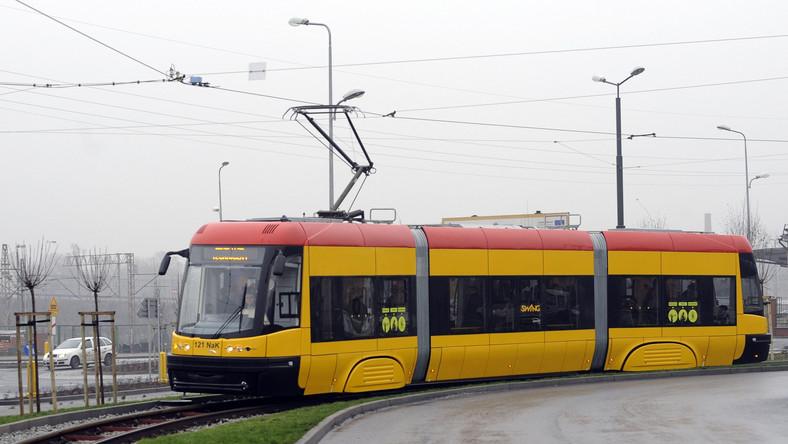 """Tramwaj """"Swing"""", jaki bydgoska Pesa produkowała dla Kaliningradu"""