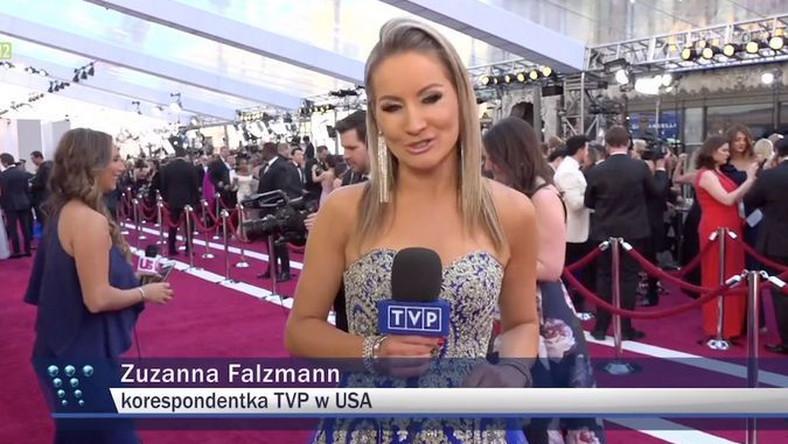 """Zuzanna Falzmann w materiale """"Wiadomości"""""""