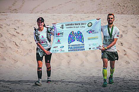 Trčali 250 kilometara u najtežim uslovima za obolele od plućne hipertenzije: Marina Lazić i Jovica Spajić