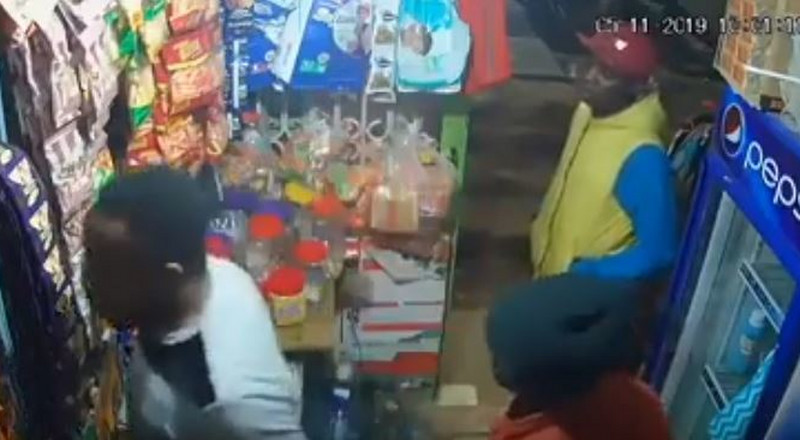 Detectives identify suspect caught on CCTV in Kasarani shop shooting