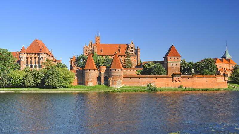 Zamki w Polsce - Malbork