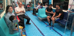 Basen w metrze? Te zdjęcia zachwycają