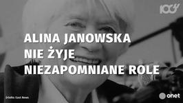 Alina Janowska nie żyje. Oto jej niezapomniane role