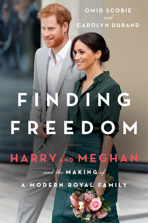 "Omid Scobie i Carolyn Durand, ""Finding Freedom: Harry and Meghan and the Making of a Modern Royal Family"" (okładka)"