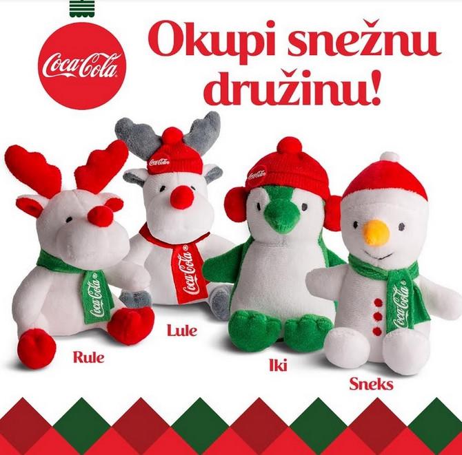 Koka - Kola  (Coca- Cola) daruje, vesela družina vas čeka