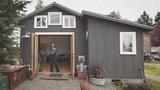 Zrobiła sobie dom w małym garażu