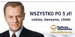"""""""Chleb po 5 zł? Fajnie!"""". Oto żarty z drożyzny i Tuska"""