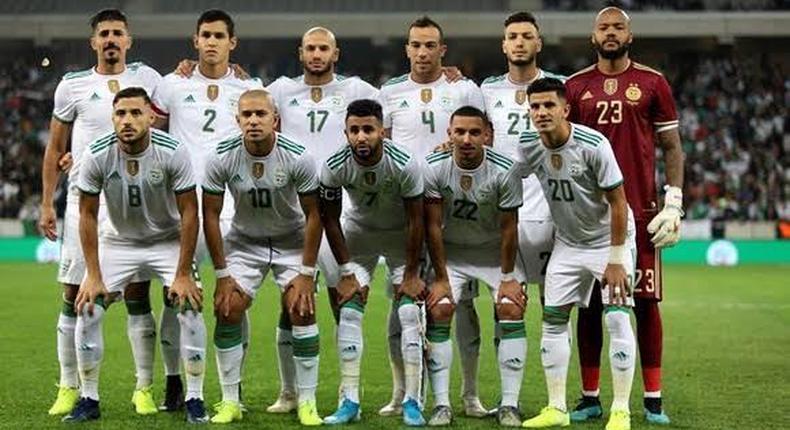équipe nationale d'Algérie