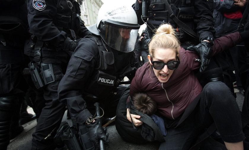 Demonstracja przeciw nacjonalizmowi nie obyłą się bez incydentów