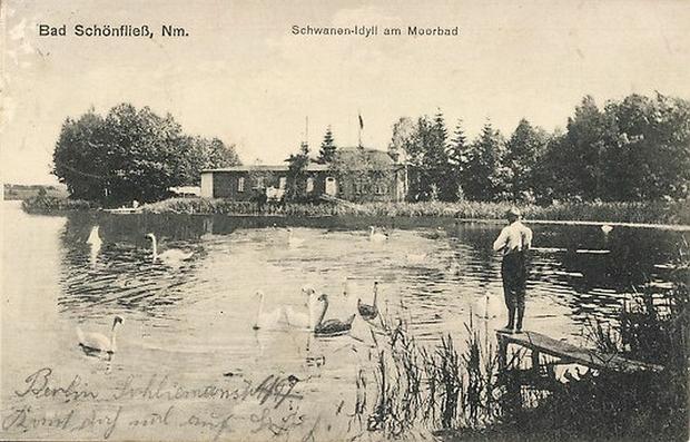 Jezioro Trzygłowskie, Trzcińsko-Zdrój (1915 r.)
