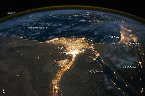 Kair - stolica Egiptu. Fot. dzięki uprzejmości NASA / JPL-Caltech