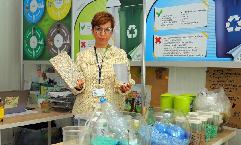 Segregujemy śmieci, bo dbamy o Ziemię