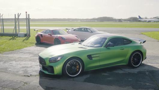 Merc-AMG GT R, 911 GT3 RS czy BMW M4 GTS?