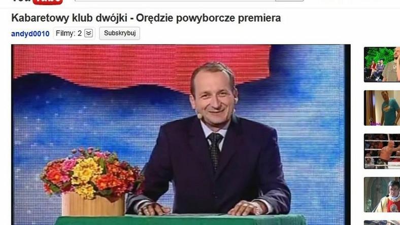 Orędzie powyborcze premiera. Robert Górski jako szef rządu