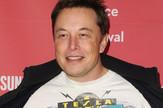 Ilon Mask u Tesla majici