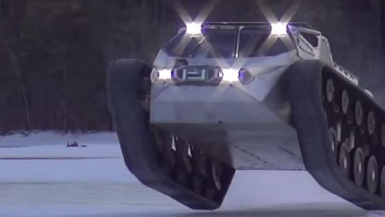 Najszybszy pojazd gąsienicowy świata? Oto Ripsaw EV2
