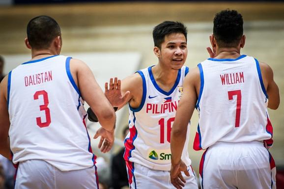 Radost košarkaša Filipina