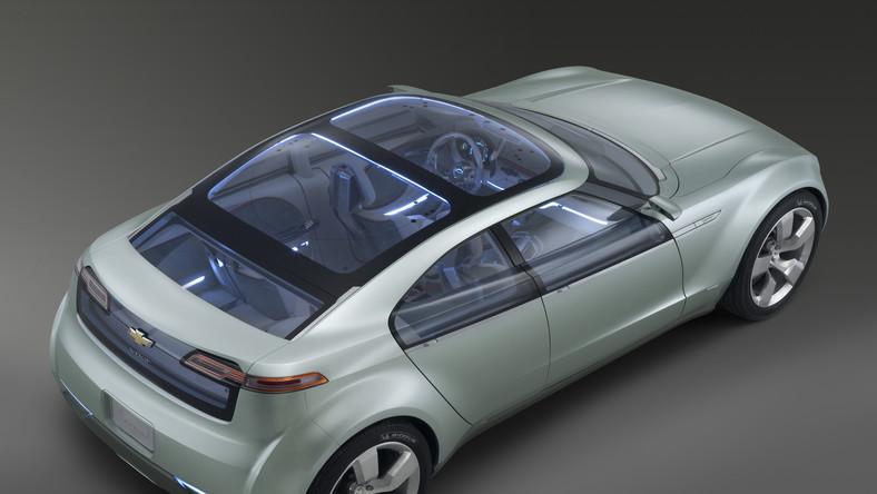 Podobnie jak samochód koncepcyjny (fot) volt seryjny dostanie kształty coupe