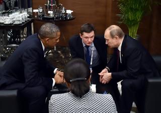 Putin i Obama mówią jednym głosem w sprawie Syrii