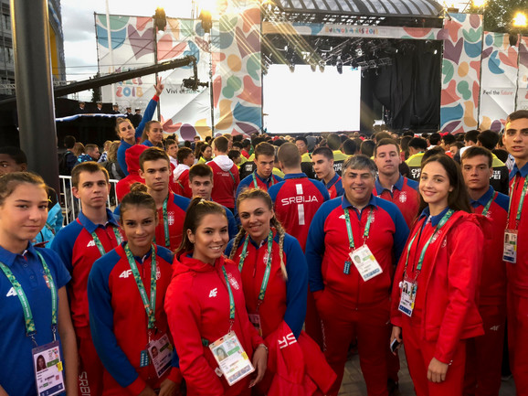 Tim Srbije u Buenos Ajresu