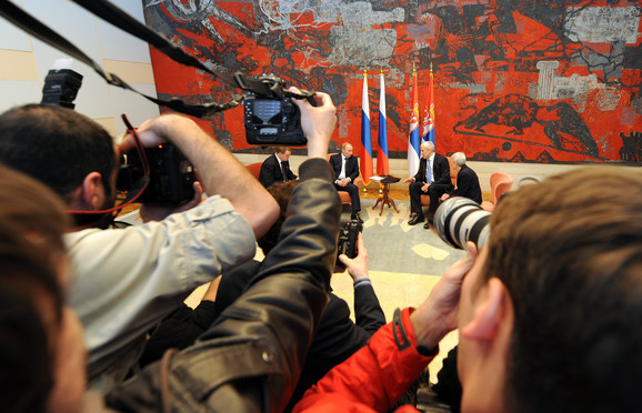 Razgovori Borisa Tadića i Vladimira Putina