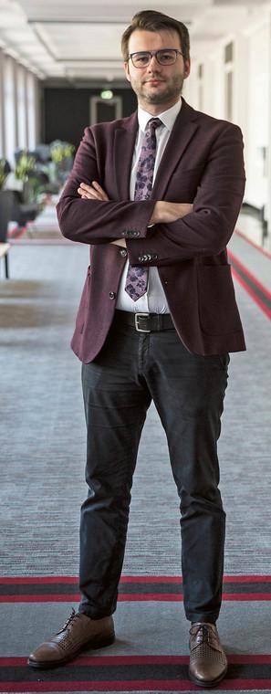Przemysław Grosfeld, zastępca dyrektora departamentu doskonalenia regulacji gospodarczych w Ministerstwie Rozwoju, Pracy i Technologii  fot. Wojtek Górski
