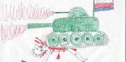 Dzieci w Rosji rysują makabry. Psychiatrzy winią Putina?