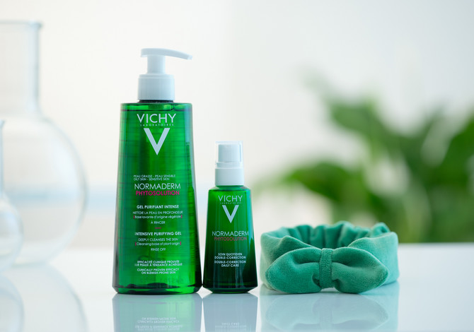 Vichy Normaderm Phytosolution rutina - gel za dubinsko čišćenje i dnevna nega sa dvostrukim efektom korekcije
