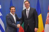 Aleksis Cipras i Aleksandar Vučić Solun Tanjug Dimitrije Goll