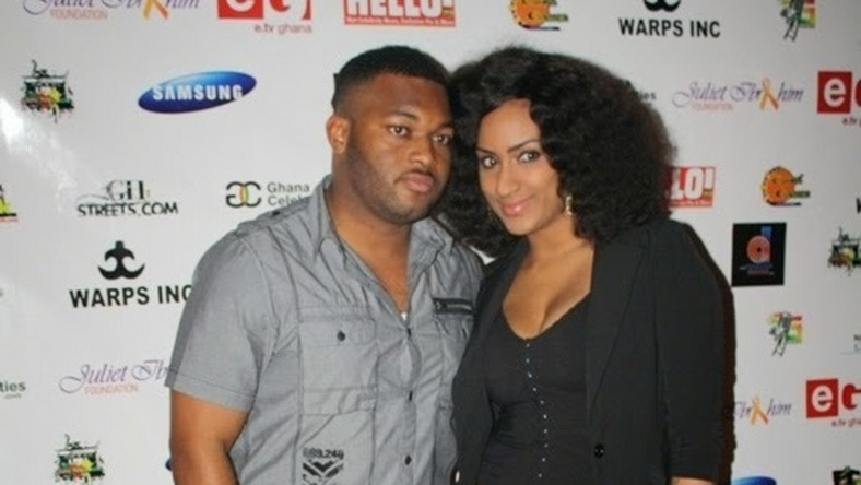 Juliet Ibrahim and Kwadwo Safo Jnr