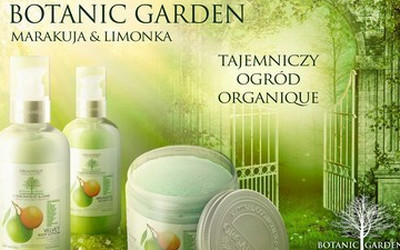 Tajemniczy Ogród Organique Nowa Ekskluzywna Seria Kosmetyków