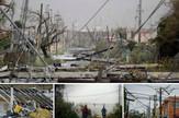Portoriko kolaž uragan Marija