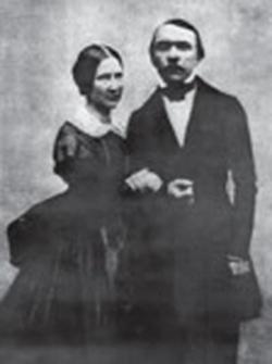 Jan Koźmian i Zofia Chłapowska