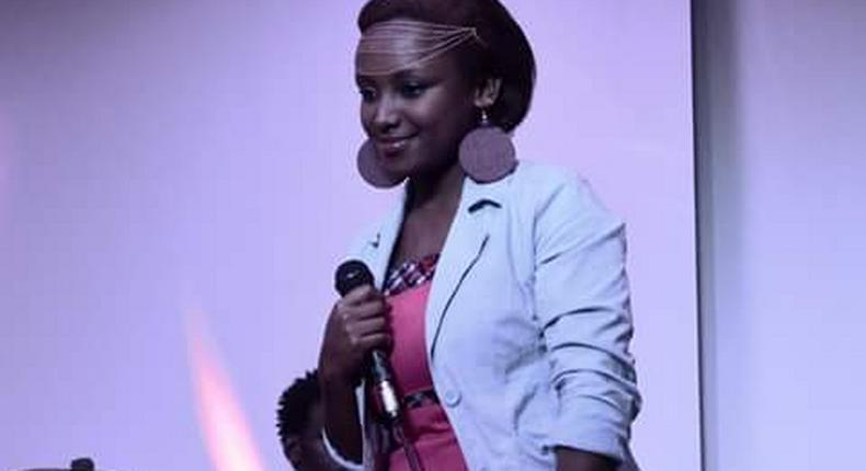 Gospel songstress and writer made her debut on Monday with her single, Mwamba Dhabiti