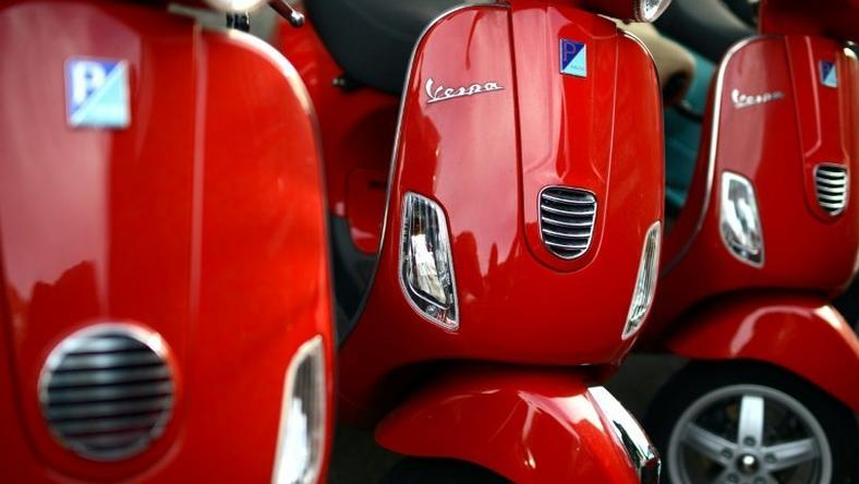 US President Donald Trump is seeing red about what he calls the 'trade cheats' responsible for the US trade deficit and Italy is concerned that its iconic Vespa scooters could be on a list of European products facing massive duties