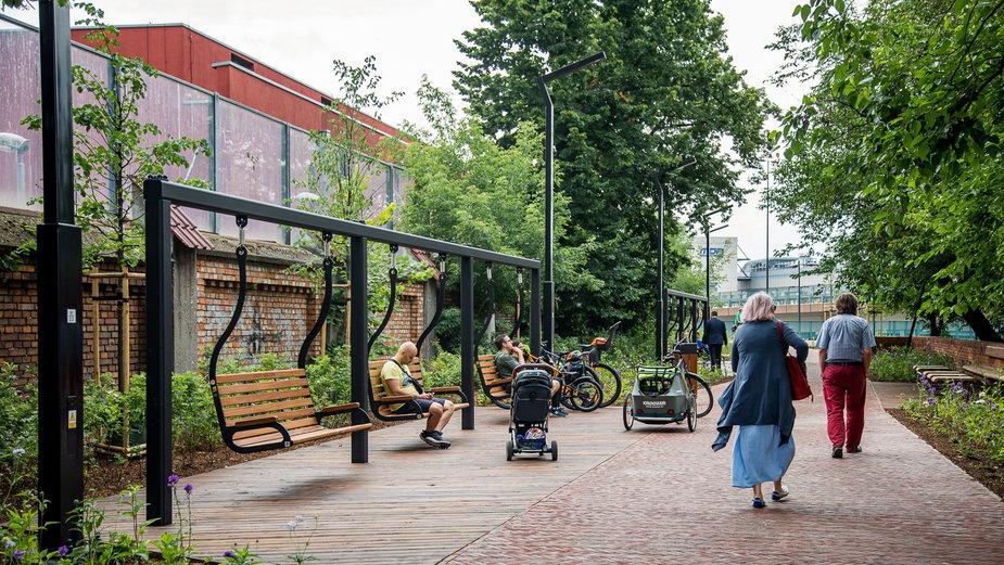 Ogród Kasztanowy już otwarty. To nowy park kieszonkowy w Krakowie
