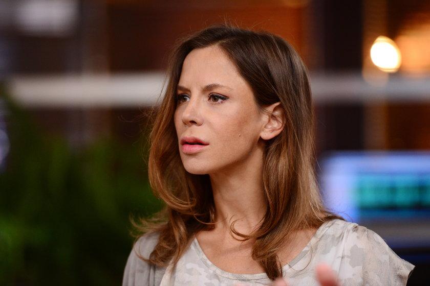 """Natalia Lesz w serialu """"Komisarz Alex"""""""
